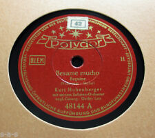 Kurt Hohenberger - Besame Mucho / Je suis seul ce soir POLYDOR (1229)