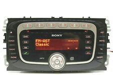 FORD SONY MP3 CAR STEREO RADIO CD PLAYER MONDEO FOCUS CONNECT C S MAX GALAXY