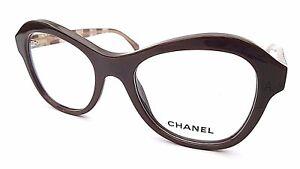 CHANEL DESIGNER FRAMES GLASSES IN BROWN 3299 1484 WITH CASE - NEW & UNDER £200**