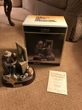 Flambro Emmett Kelly Signature Collection Making Up In Box 2187/7,500 With Coa