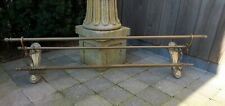 French Art Nouveau Brass Hat and Coat Rack