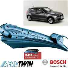 Bosch A208S BMW serie 1 E81 E82 E87 E88 AEROTWIN DELANTERO Wiper Blades Set