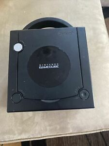 Black GameCube Console Only For Parts READ DESCRIPTION