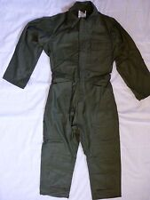 Sateen Cotton Coveralls Military Type I Small  OD Mechanics New Lajas Industries