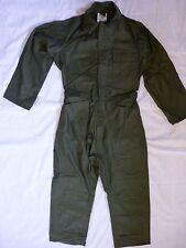 Sateen Cotton Coveralls Military Type I Small  OD Mechanics New Vanderbilt