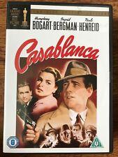 Humphrey Borart CASABLANCA ~ 1942 Wartime Romantic Drama Classic 2-Disc UK DVD
