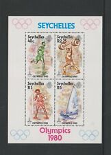 Seychelles - 1980, Olympic Games, Moscow sheet - MNH - SG MS477