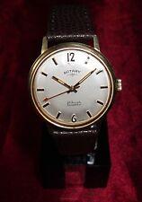 Alte Herren ROTARY 60er Vintage Watch Handaufzug Swiss traumhaftes Werk