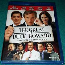 JOHN MALKOVICH, TOM HANKS, The Great Buck Howard, BLU-RAY, NEW