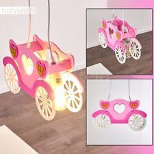 Lampe à suspension Lampe pendante Chambre d'enfant Plafonnier Lustre rose 185506
