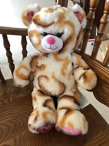 """Build A Bear Girl Scouts Smores Cookie Swirl White Brown Plush Stuffed Toy 16"""""""