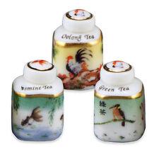 Reutter Porzellan Asiatische Teedosen Asian Tea Box Set Puppenstube 1:12 1.440/8