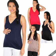 Hip Length Viscose No Pattern V Neck Tops & Shirts for Women
