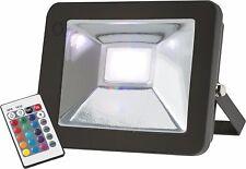 Knightsbridge IP65 30W RGB LED Druckguss Aluminium Flutlicht mit Fernbedienung