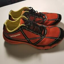 Patagonia Everlong Mens 8.5 Eclectic Orange Trail Running Athletic Shoes