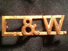 WWII LINCOLN & WELLAND Regiment Canada shoulder title badge WW2 Canadian L&W