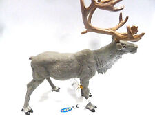 X3) NEU PAPO 50117 Rentier Ren Hirsch Safari Tierfiguren Waldtiere