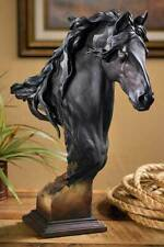 Equus - Fresian Horse - Large Sculpture by Arich Harrison