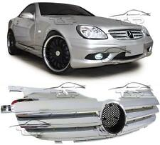 FRONT CHROME GRILL FOR MERCEDES SLK R170 96-04 SPOILER BODY KIT NEW