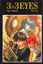 3x3 EYES Tome 30 Takada PIKA manga seinen