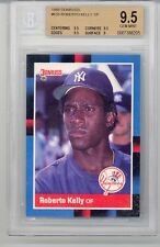 1988 Donruss Roberto Kelly (Rookie Card) SP (#635) BGS9.5 BGS