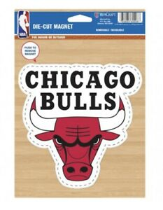 WINCRAFT CHICAGO BULLS LOGO DIE CUT MAGNET WEATHER RESISTANT NEW