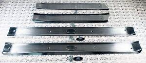1961-1964 Buick Chevrolet Olds Pontiac 4-Door Models Door Sill Scuff Plates (4)