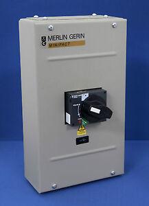MERLIN GERIN MP2B020 MINIPACT ENCLOSED MCCB 20A DP