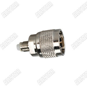 1pce Adapter Connector FME female jack to FME female jack for Wifi Router