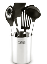 All-Clad 4-Piece(MISSING THE SOLID TURNER) Stainless Steel Nonstick Tool Set