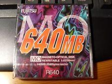 DISCO MAGNETO OPTICO FUJITSU 640  MB
