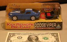 Mighty Mo's Die Cast Key Remote Dodge Viper NIB