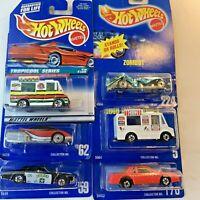 Hot Wheels Mattel Vintage Cars Truck Toys Lot of 6 NOS #N1-1