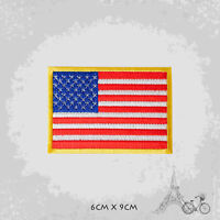 USA National Country Flag Patch Iron On Patch Sew On Embroidered Patch