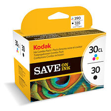 Kodak 30B Black and 30C Colour Original Combo / Multi Pack Ink ESP C110 C310
