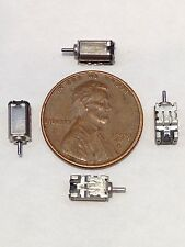 4 Pieces DC 3V Ultra Micro Rotor Motor 3mm x 4mm x 7mm .35g Wgt Electric Motor