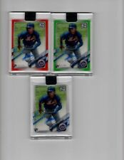 New listing 2021 Clearly Authentic ANDRES GIMENEZ Rookie RED GREEN CLEAR Autograph LOT X 3