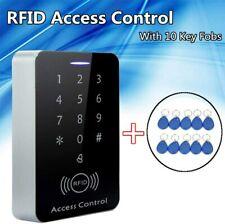 Sicherheit RFID Codeschloss Zugangssystem Zutrittskontrolle Türöffner +10clips