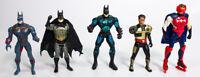 Vintage DC Comics Batman Action Figures Superman Kenner 90's Lot of 5
