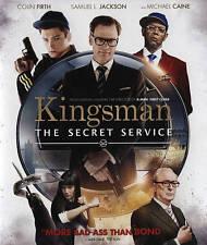 Kingsman The Secret Service Blu-ray Disc 2015 Egerton Firth Caine Jackson Sophie