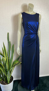 Phase Eight Maxi Dress Eveniing Blue Shimmer Brand New With Tags Size 14 £130