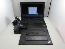ThinkPad T420 i5 2520M 8GB 500GB WebCam DVD+RW Win 10 Office 2019 Dock