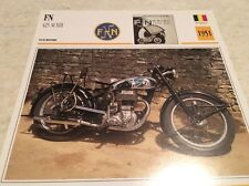 Fiche moto collection Atlas Motorcycle FN 425 M XIII 1951
