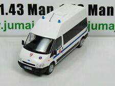 PM35E 1/43 IST déagostini Police du Monde : FORD transit CRS Police France