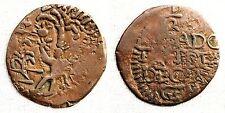 Fernando VII. 1/2 real. Cartagena de indias. MBC/VF Cobre 1,8 g. CAL-1263. Rara