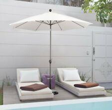 Astella 9' Market Crank Tilt Polyester Patio Umbrella