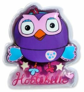 New Giggle And Hoot Hootabelle Bump Buddy Gel Ice Pack Kids Baby Reusable Girls