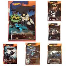 HOT WHEELS BATMAN MACCHINE/VEICOLI-BATMOBILE/BAT POD/BAT completa 6/6