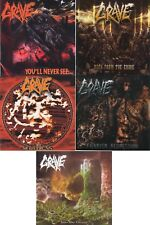 GRAVE - 5 CD SET - SOULLES/ FIENDISH REGRESSION/ BACK FROM THE GRAVE etc.+GIFT