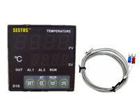 Sestos D1S-2R-220 Digital Pid Temperature Controller + k sensor heater control